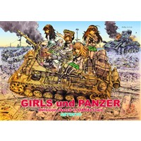 GIRLS und PANZER Delusion sketch in OARAI town