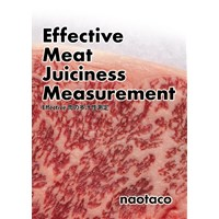 Effective Meat Juiciness Measurement Effective肉の多汁性測定