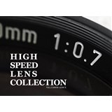 HIGH SPEED LENS COLLECTION Vol.1 CANON LENS X